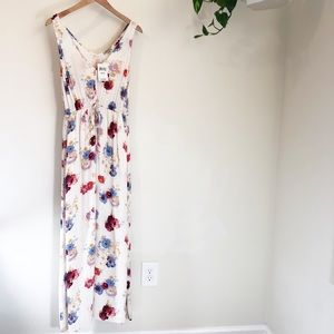 NWT Lucky Brand xs floral maxi dress ❤️